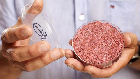 FOTO 6   6. La hamburguesa de carne de vaca sin vaca: La industria ganadera es uno de los principales contribuyentes al calentamiento global. Esta carne 'de laboratorio' imita la textura, el sabor y el valor nutricional del producto animal a partir de proteínas vegetales. (Foto: Cultured Beef)