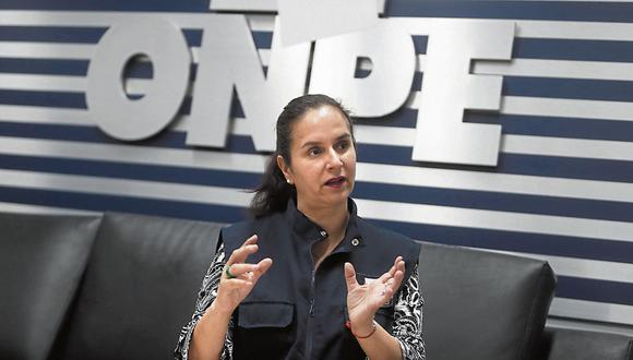 """Margarita Díaz Picasso señala que se pedirá información a bancos, UIF y Sunat. Se realizará un """"chequeo muestral"""" de proveedores y aportantes. (Foto: GEC)"""