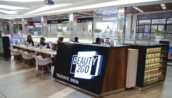 Los módulos de Beauty2Go en centros comerciales ofrecerán sobre todo servicios express (de unos 20 minutos), como manicure, pedicure y depilación con hilo en cejas y bozos. (Foto: Beauty2Go)