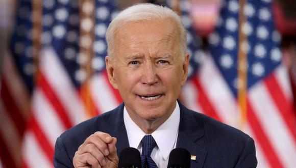 Biden, quien dice que no ha hablado con Powell desde que se convirtió en presidente, probablemente comenzará a considerar su elección para la presidencia de la Fed en los próximos meses. (Reuters)