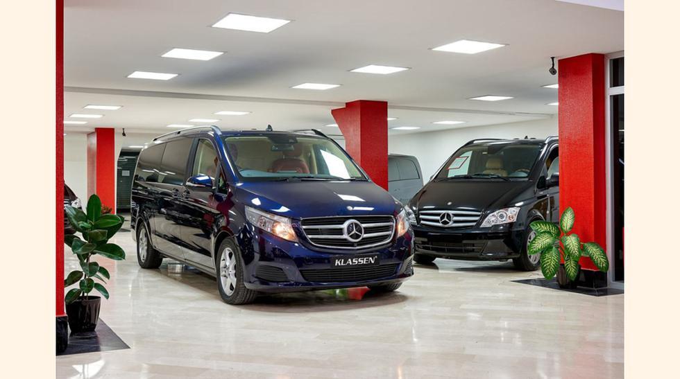 Klassen es una empresa alemana especializada en acondicionar y transformar en vehículos de lujo, modelos poco comunes para estos fines. (Foto: Megaricos)