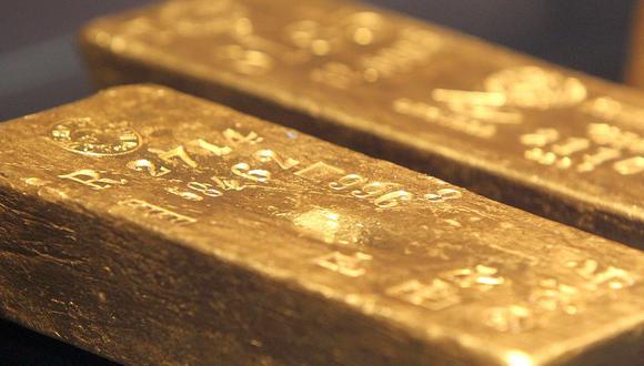 Los futuros del oro en Estados Unidos mejoraban un 0.4% a US$ 1,874.80 la onza. (Foto: AFP)