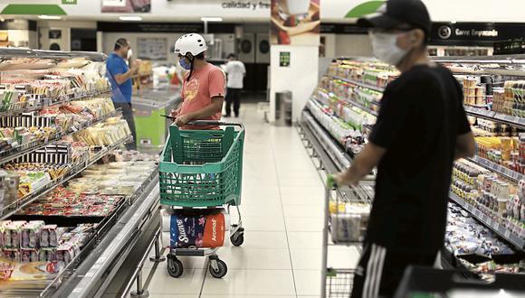 Potencial. Supermercados es el sector con más potencial para RUAG. (Foto: Anthony Niño de Guzmán | GEC )