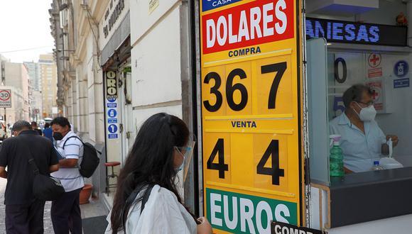 El dólar se vendía a S/ 3.64 en el mercado paralelo este viernes. (Foto: Juan Ponce / GEC)