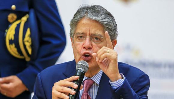 El presidente de Ecuador, Guillermo Lasso. (Foto: EFE/ José Jácome).