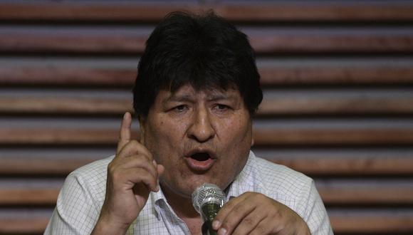 """""""Es un ataque del golpista Luis Almagro (secretario general de la OEA) y sus cómplices de la derecha para desestabilizar políticamente la democracia"""", aseguró en la víspera Morales en su cuenta de Twitter."""