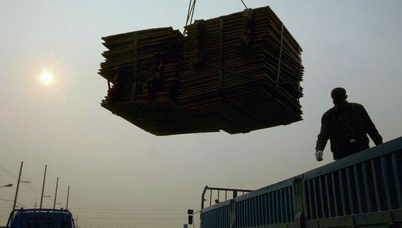 El cobre es usado en las industrias de la energía y la construcción. (Foto: AFP)