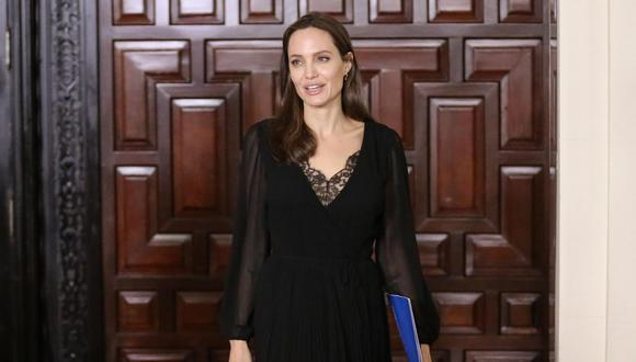Angelina Jolie. (Foto: AFP).