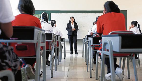 Colegios privados tendrán tres años para adecuarse a las nuevas condiciones básicas de calidad, informó el Minedu. (Foto: USI)
