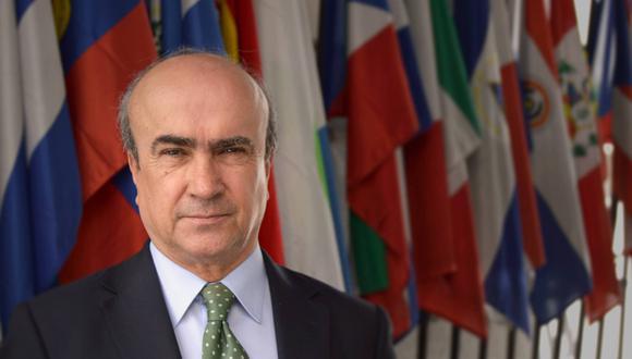 El secretario general de la OEI, el español Mariano Jabonero. (Foto: OEI)