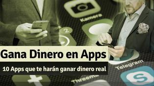 10 Apps para ganar dinero real