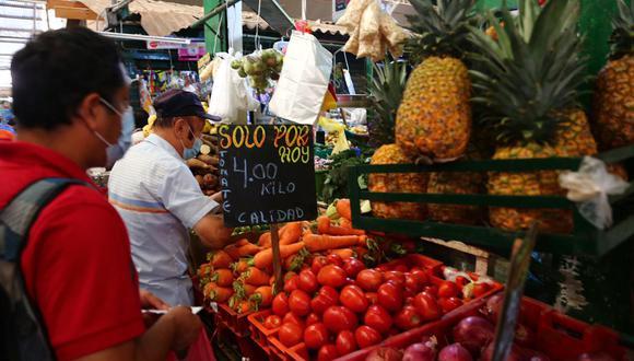 La proyección de inflación para este año podría ubicarse en 3% por efectos transitorios, el aumento de precios de combustibles y alimentos y el tipo de cambio, señaló el BCR.
