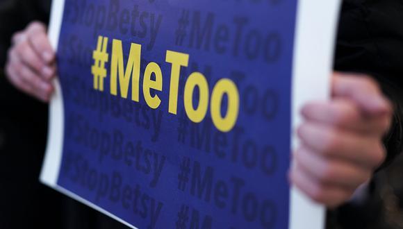 #MeToo. (Foto: AFP)