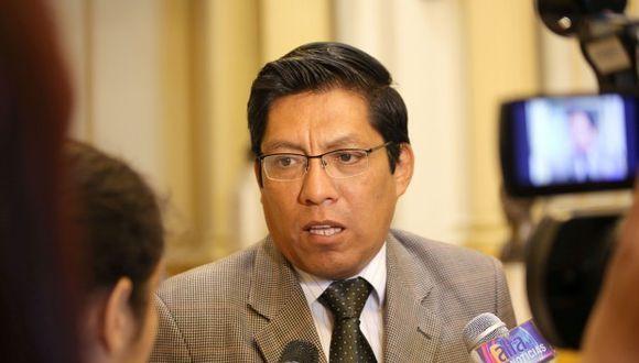 El ministro de Justicia, Vicente Zeballos, lamentó el rompimiento de las relaciones interinstitucionales en el Ministerio Público. (Foto: GEC / Video: TV Perú)