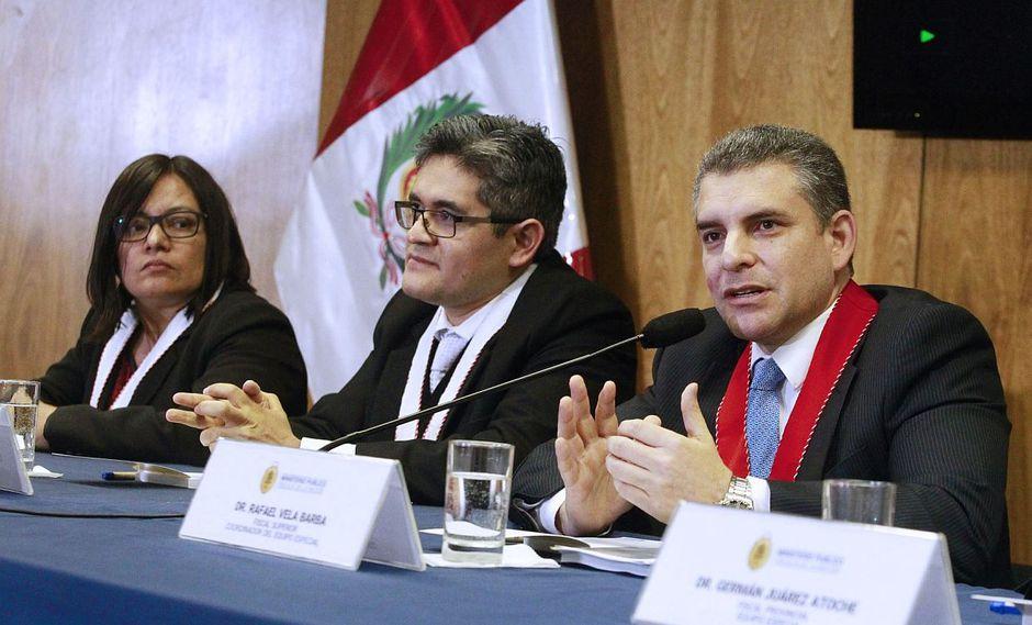El equipo especial Lava Jato advierte atentado  contra  lucha frontal anticorrupción  . (Foto: EFE / Video: América TV)