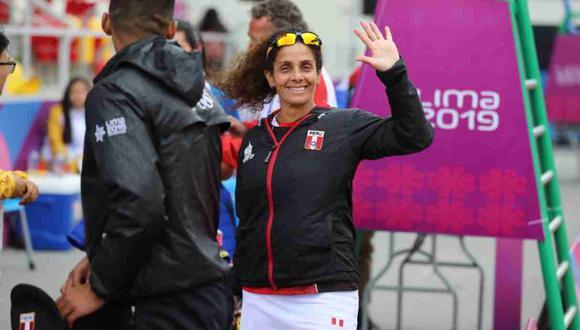 Claudia Suárez sumó la novena medalla de oro para el Perú. (Foto: Giancarlo Ávila / GEC)
