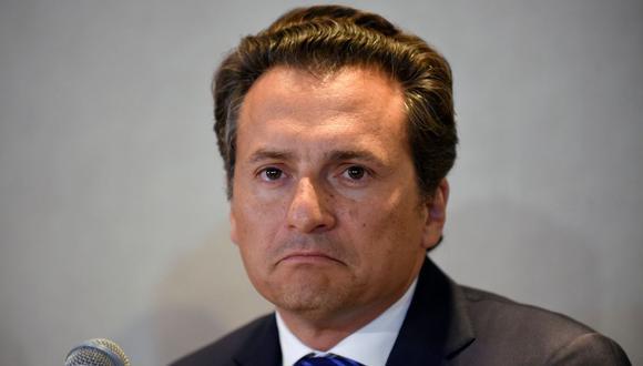 """Según la investigación, OHL """"fue beneficiada con multimillonarios contratos y concesiones"""" por el Gobierno del presidente Enrique Peña Nieto (2012-2018), quien nombró a Lozoya al frente de la petrolera estatal. (Foto: AFP)."""