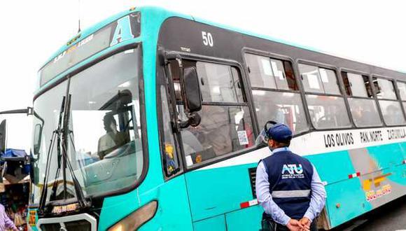 Los inspectores de la ATU son constantemente agredidos por conductores que no cumplen las normas. (Foto: ATU)