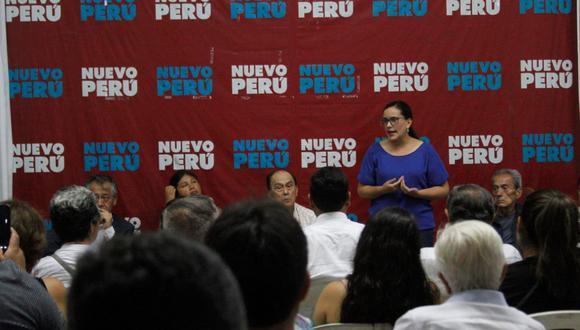 Nuevo Perú llevó a cabo elecciones para definir a sus precandidatos al Congreso y Parlamento Andino. (Foto referencial: Nuevo Perú).