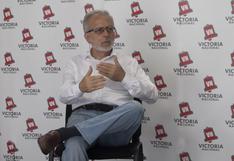 Jorge Chávez: Empresarios que están financiando a Victoria Nacional, no son de grandes grupos de poder