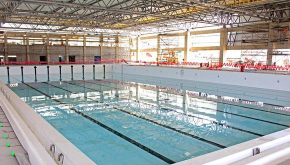 El centro acuático de Villa María del Triunfo estará abierto al público cuando terminen los Juegos Panamericanos. (Foto: Lima 2019)