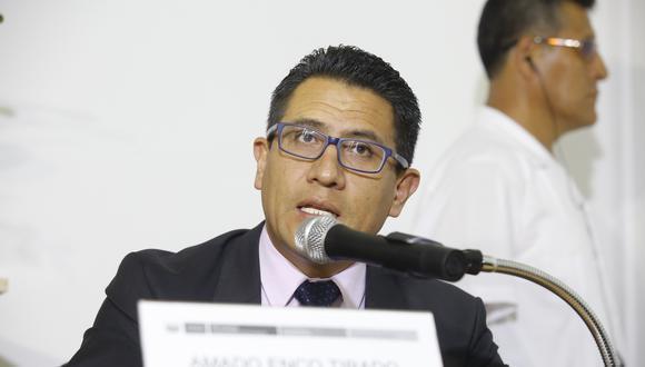 Amado Enco estuvo a cargo de la Procuraduría Anticorrupción durante cuatro años. (Foto: GEC)