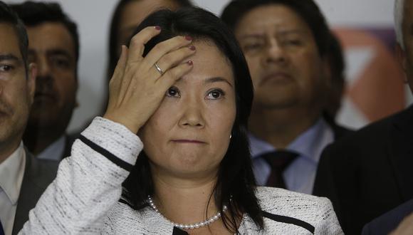 """La ex candidata presidencial envió saludos a sus familiares y les indicó que resistirá la privación de su libertad """"hasta el final"""". (Foto: GEC)"""