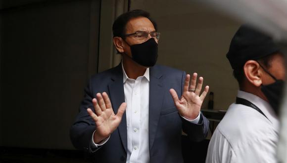 Martín Vizcarra afirmó que no se fugará a otro país y que afrontará la investigación en su contra. (Foto: Alessandro Currarino)