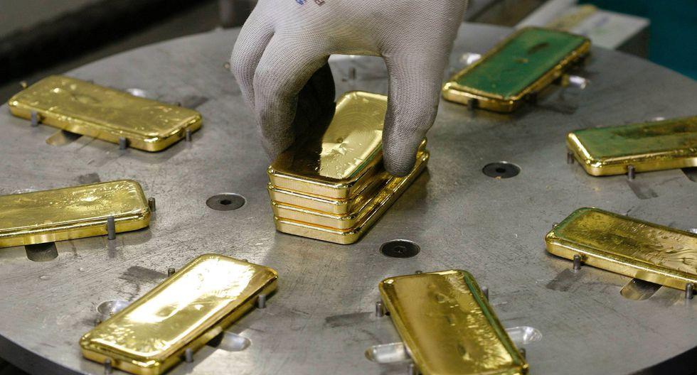 Los futuros del oro en Estados Unidos perdían 0.4% este lunes. (Foto: Reuters)