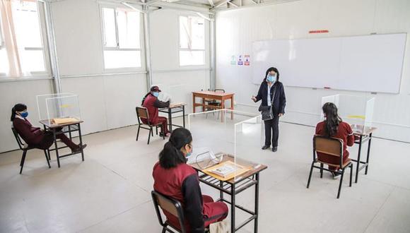 Minedu modificó la norma técnica sobre retorno a clases presenciales en medio de la pandemia por el COVID-19. (Foto: Andina)