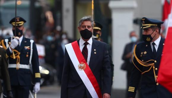 El exmandatario y la lideresa de Fuerza Popular enviaron los mayores éxitos al nuevo jefe del Estado, Francisco Sagasti, quien asumirá el cargo hasta el 28 de julio del próximo año. (Foto: GEC)