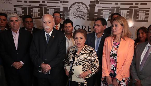 Fuerza Popular, a través de sus voceros, aseguró que su prioridad ahora es aprobar la ley de la Junta Nacional de Justicia. (Foto: GEC / Video: Canal N)