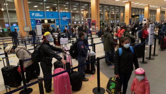 El Gobierno evaluará la ampliación de nuevas rutas para los vuelos internacionales. (Foto: GEC)