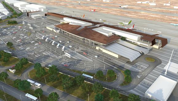 Así lucirá el nuevo Aeropuerto Internacional de Chiclayo