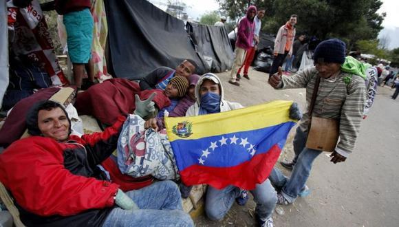 La emigración masiva de venezolanos es uno de los desplazamientos de personas más importante en la historia reciente de América Latina. (Foto referencial: EFE)