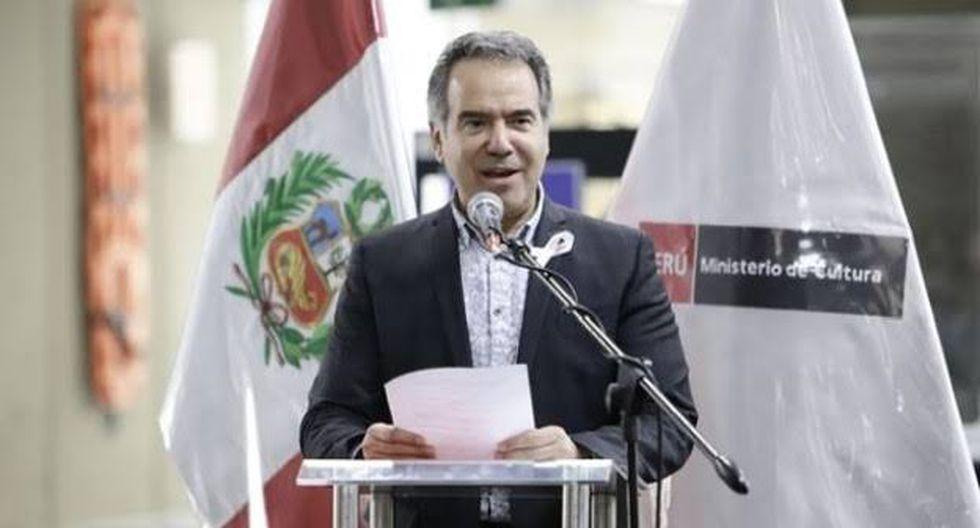 Francisco Petrozzi, ministro de Cultura, aseguró que actuó pensando en lo que era lo correcto durante su gestión. (Foto: Andina).