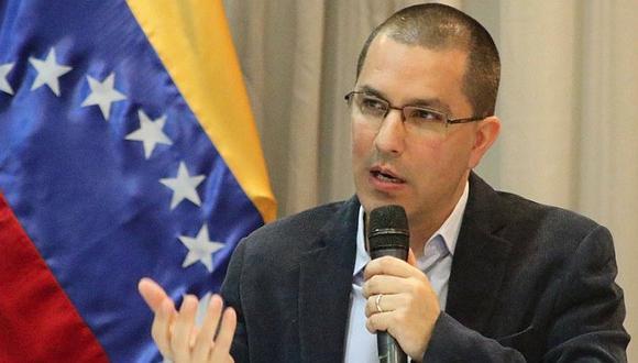 Canciller venezolano Jorge Arreaza.