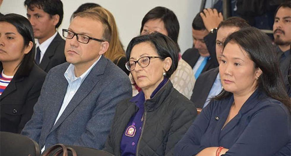 Pier Figari respondió a las acusaciones del fiscal José Domingo Pérez. (Foto: Agencia Andina)