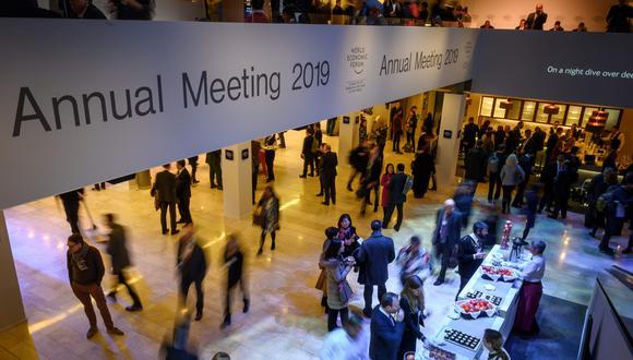 La demanda de jets privados durante la semana en Davos supera de lejos la de otros grandes eventos. (Foto: AFP)