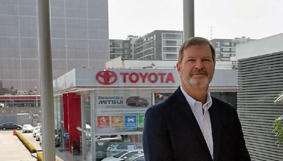 Bernd Grahammer, gerente general de Mitsui. (Foto: Difusión)