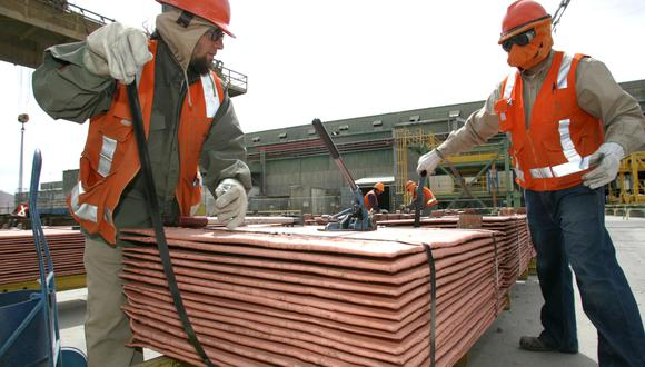 El cobre referencial en la Bolsa de Metales de Londres (LME) caía un 0,9%. (Foto: Reuters)