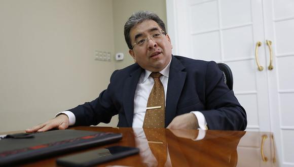 El contralor Nelson Shack indicó que ya se presentó la denuncia ante el Ministerio Público. (Foto: GEC)
