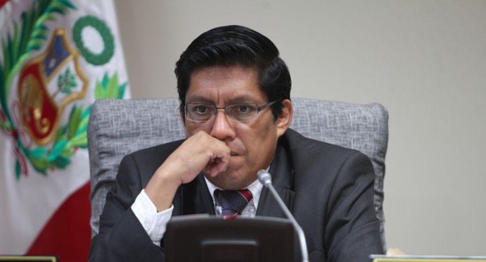 Vicente Zeballos deberá concurrir al pleno el próximo lunes 2 de setiembre a las 4:00 pm para ser interpelado. (Foto: GEC)