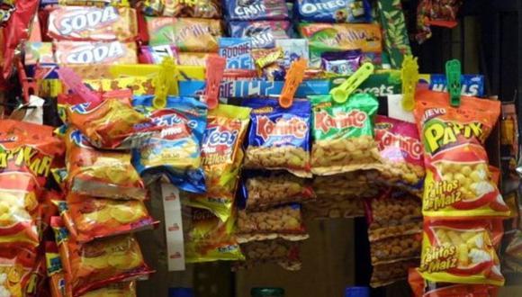 Alimentos procesados. (Foto: Archivo)