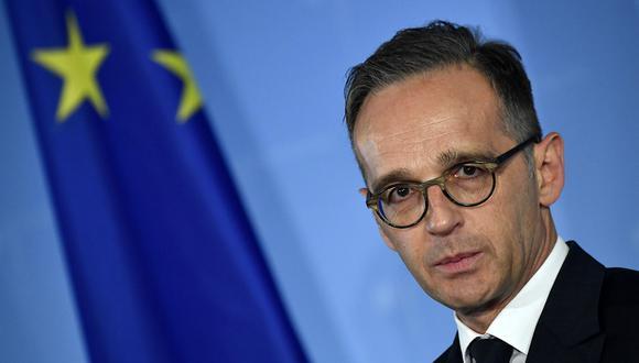 El ministro de Relaciones Exteriores de Alemania, Heiko Maas, defiende la competencia de la Unión Europea sobre el Brexit. (Foto: AFP)