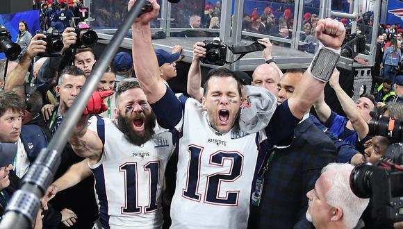 New England Patriots celebran su sexto título en su historia.