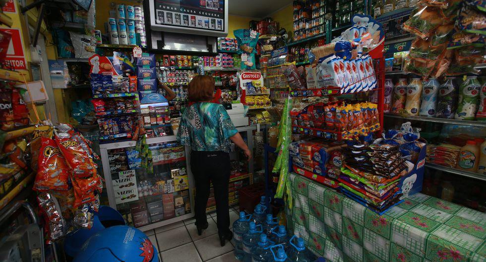 Bodegas o tiendas de abarrotes se encuentran exceptuadas de las restricciones de atención al público. (Foto: GEC)