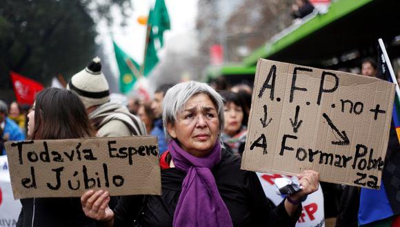 Chile, agitado ante el avance de la ley de retiro anticipado de las  pensiones | MUNDO | GESTIÓN