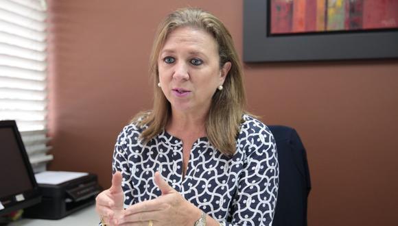 María Isabel León, presidente de la Confiep. (Foto: GEC)
