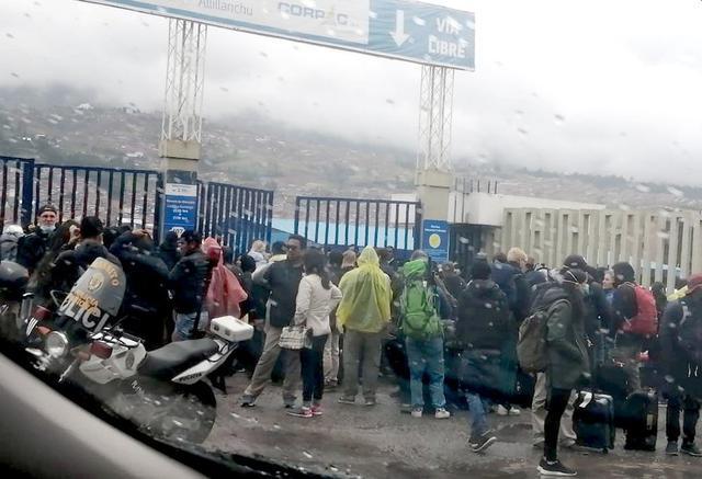 Coronavirus En Peru Aeropuerto Del Cusco Colapsa Por Cancelacion De Vuelos Nnpp Peru Gestion
